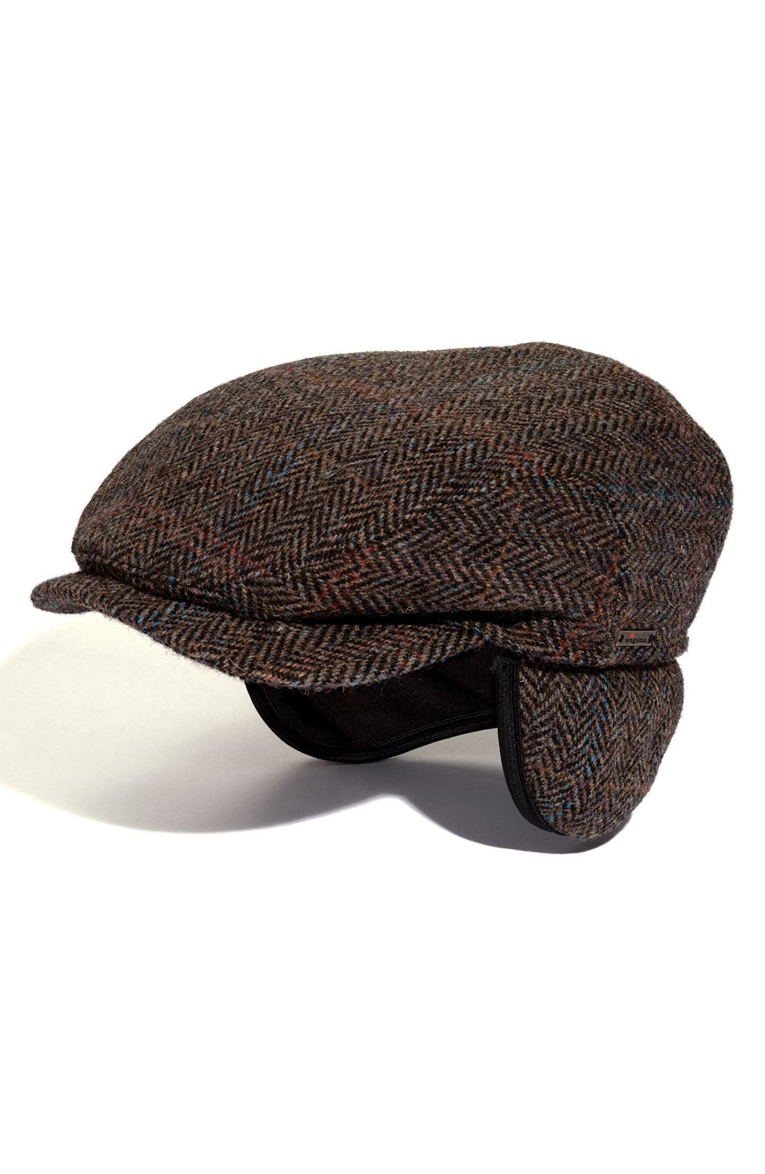 Main Image - Wigens Plaid Wool Cap