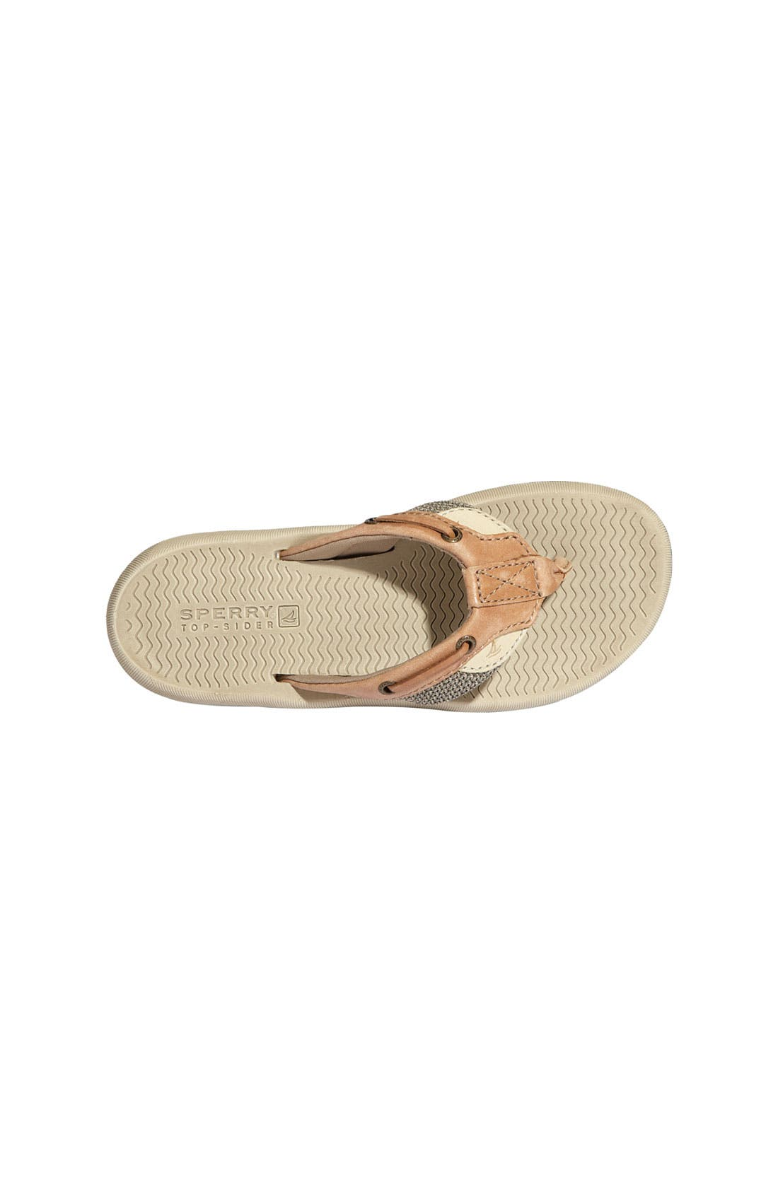 Alternate Image 3  - Sperry Top-Sider® Kids 'Bluefish' Thong Sandal (Little Kid & Big Kid)