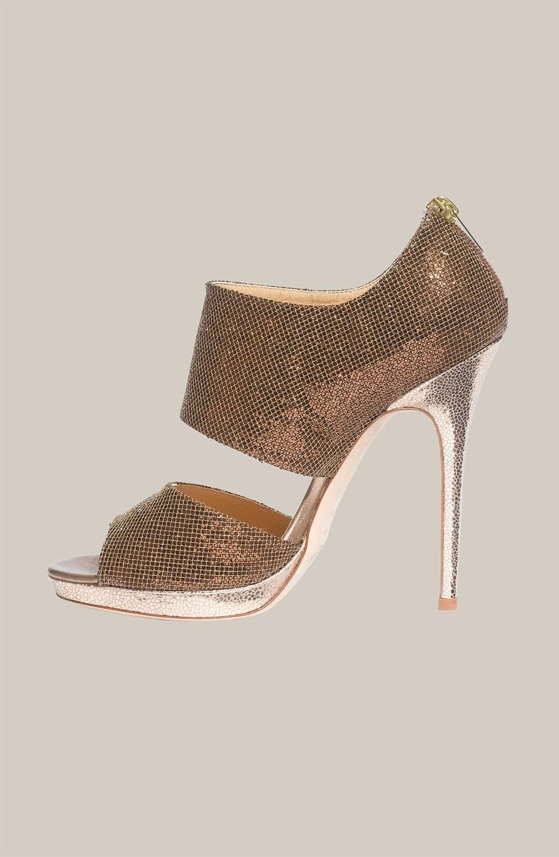 Alternate Image 2  - Jimmy Choo 'Private' Cuff Glitter Fabric Sandal