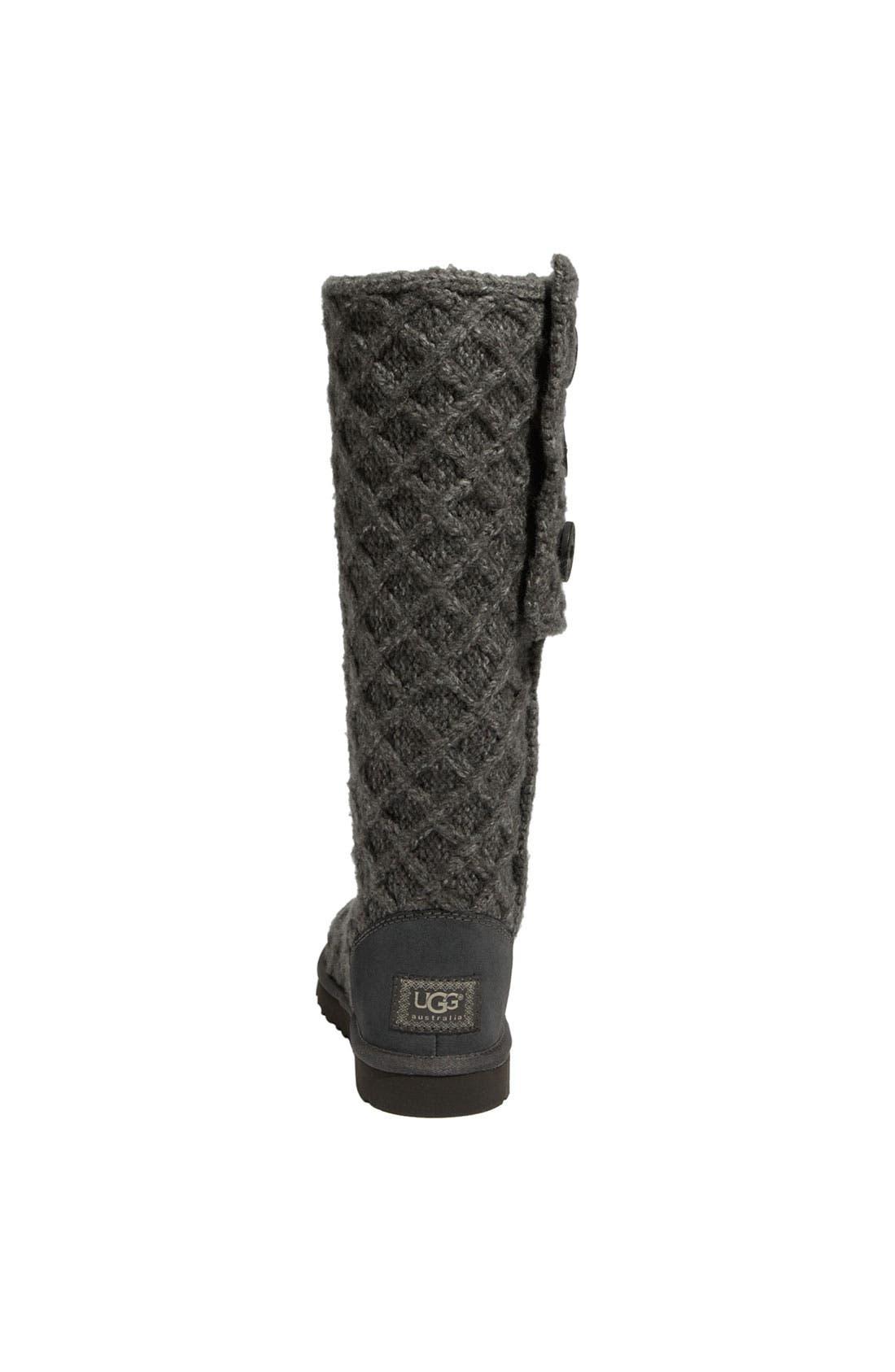 Alternate Image 4  - UGG® Australia 'Lattice Cardy' Boot (Women)