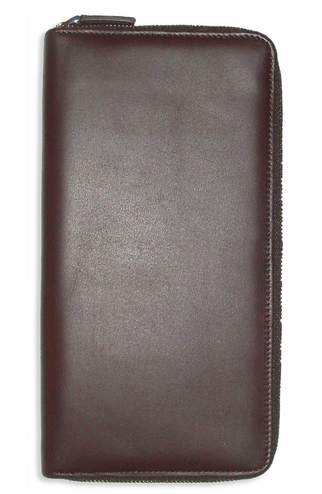 Alternate Image 2  - Boconi Leather Traveler Wallet