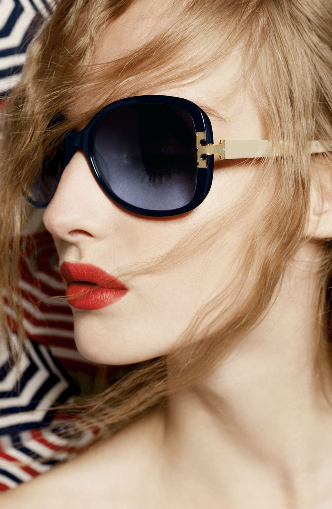 Alternate Image 2  - Tory Burch 59mm Oversized Sunglasses