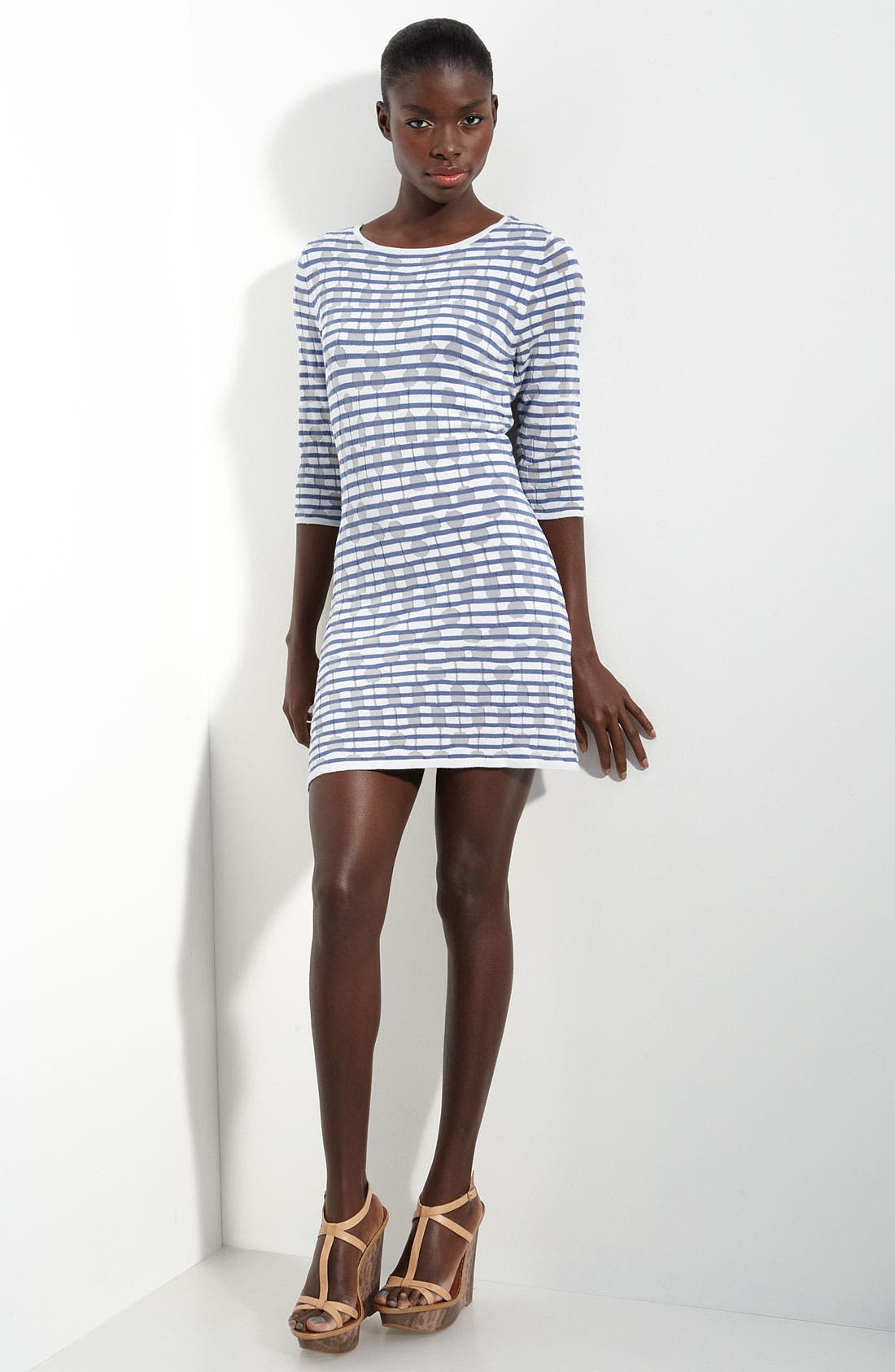 Main Image - Twenty8Twelve 'Tuesday' Devore Knit Dress