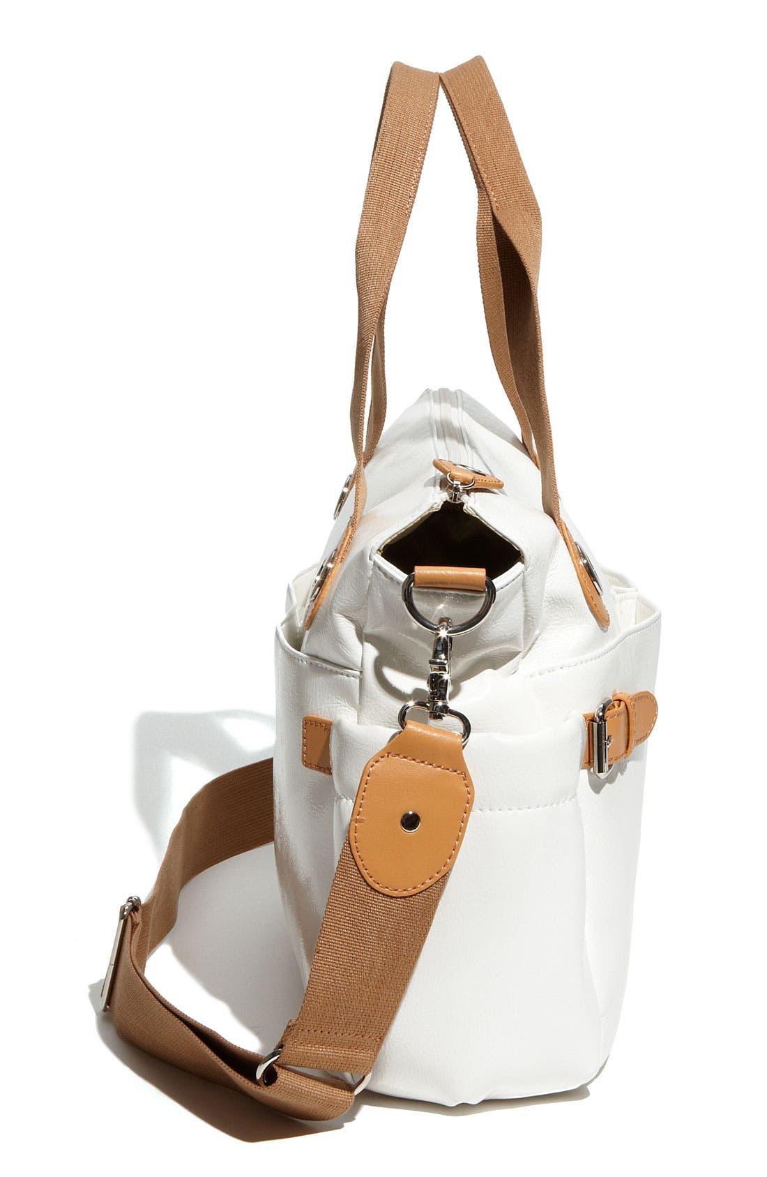 Alternate Image 3  - Storksak 'Kate' Patent Diaper Bag