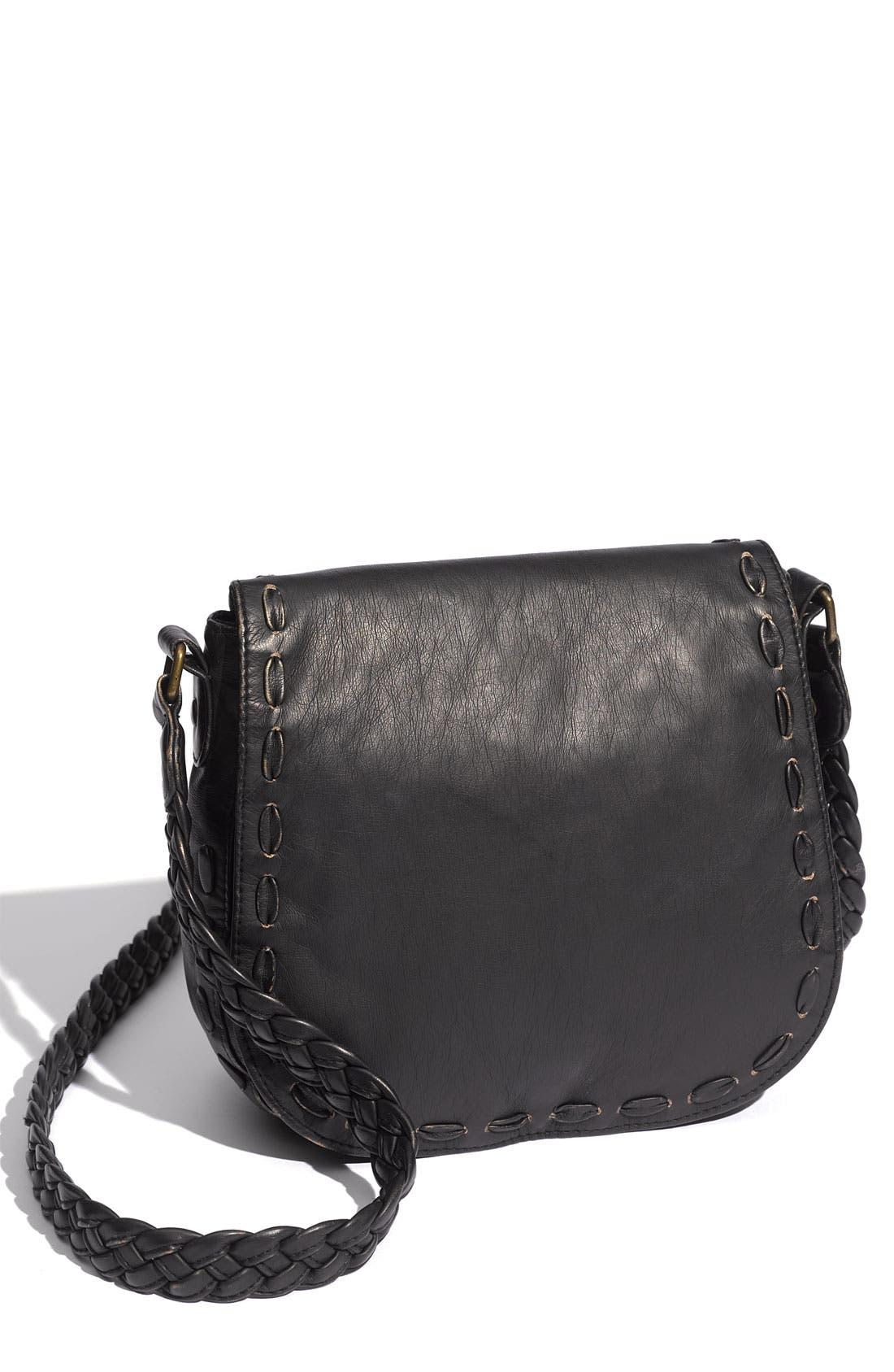 Alternate Image 1 Selected - Lulu Braided Strap Crossbody Bag
