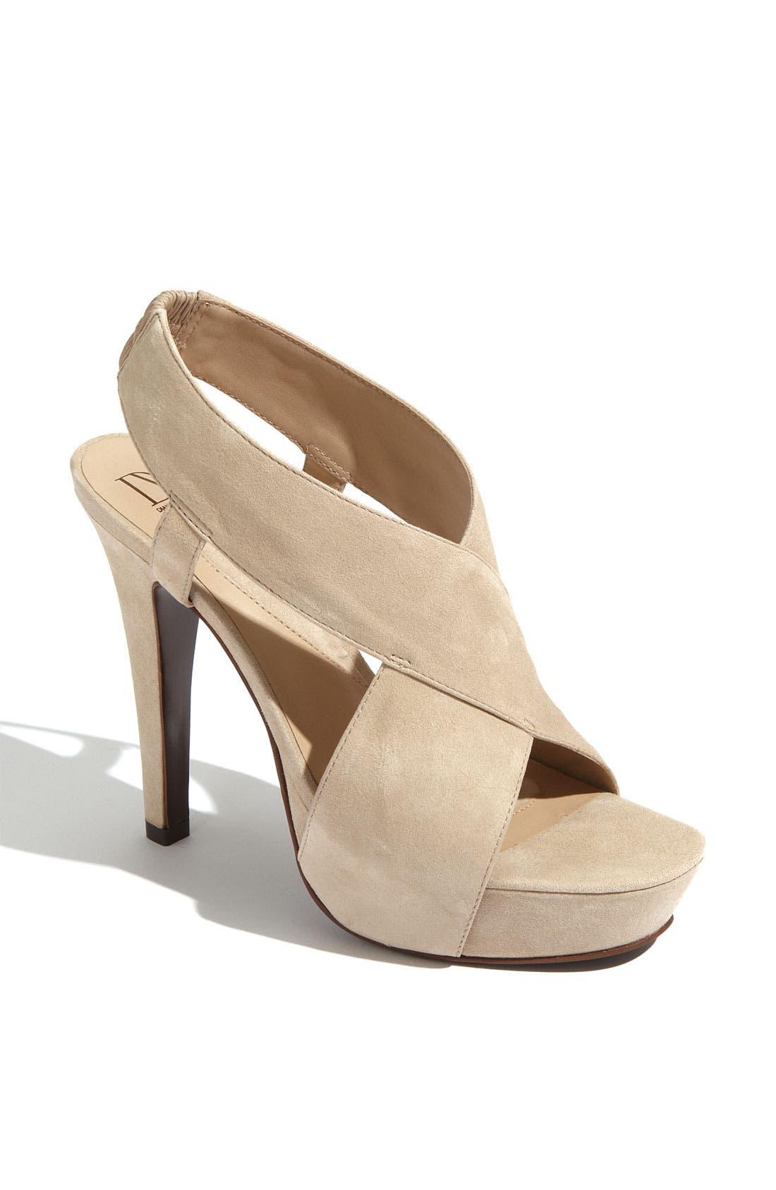 Alternate Image 1 Selected - Diane von Furstenberg 'Zia' Platform Sandal