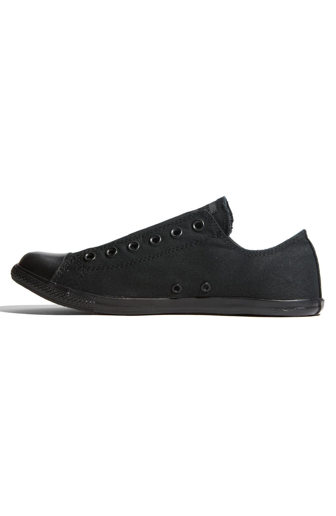 Alternate Image 2  - Converse Chuck Taylor® 'Slim' Low Top Canvas Sneaker (Men)