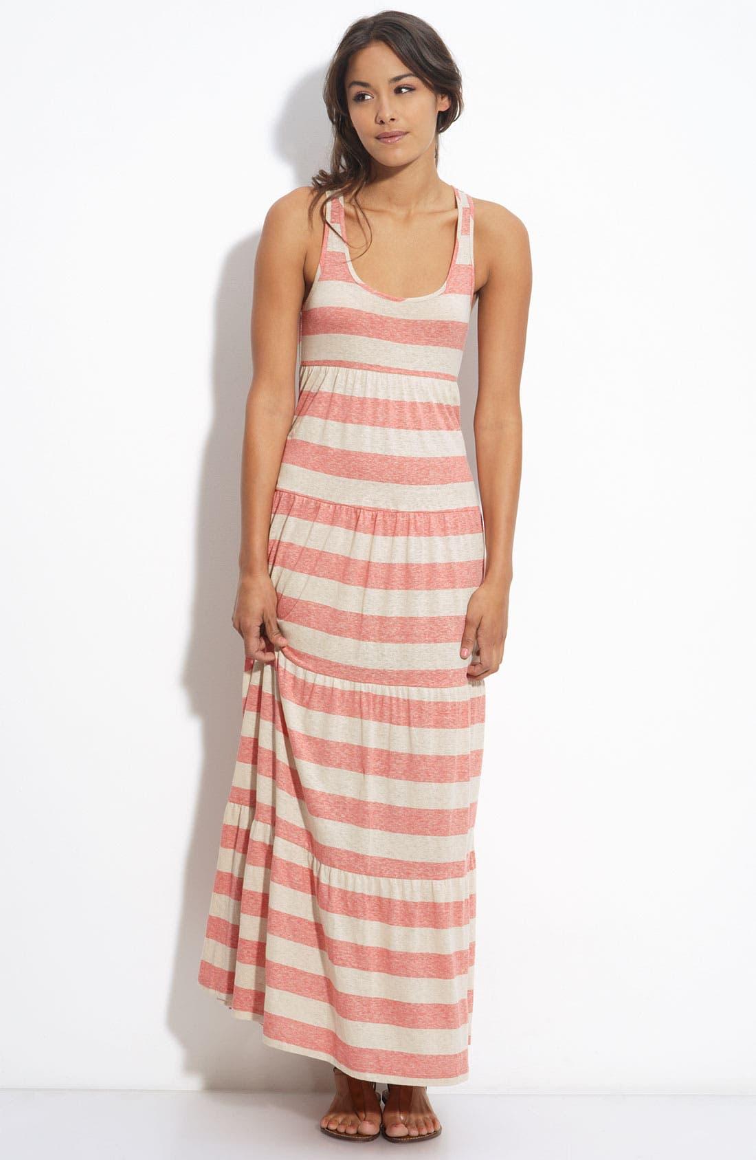 Alternate Image 1 Selected - Soprano Racerback Maxi Dress (Juniors)