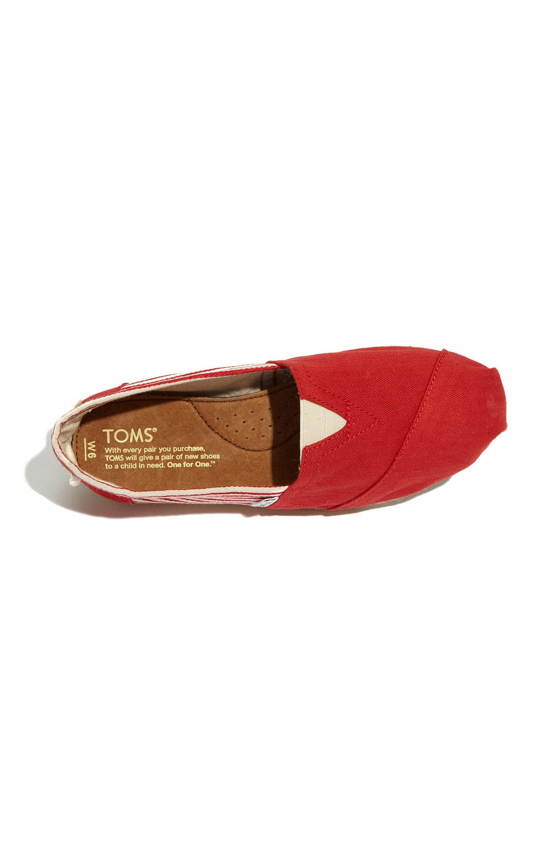 Alternate Image 3  - TOMS 'Classic - University' Slip-On (Women)
