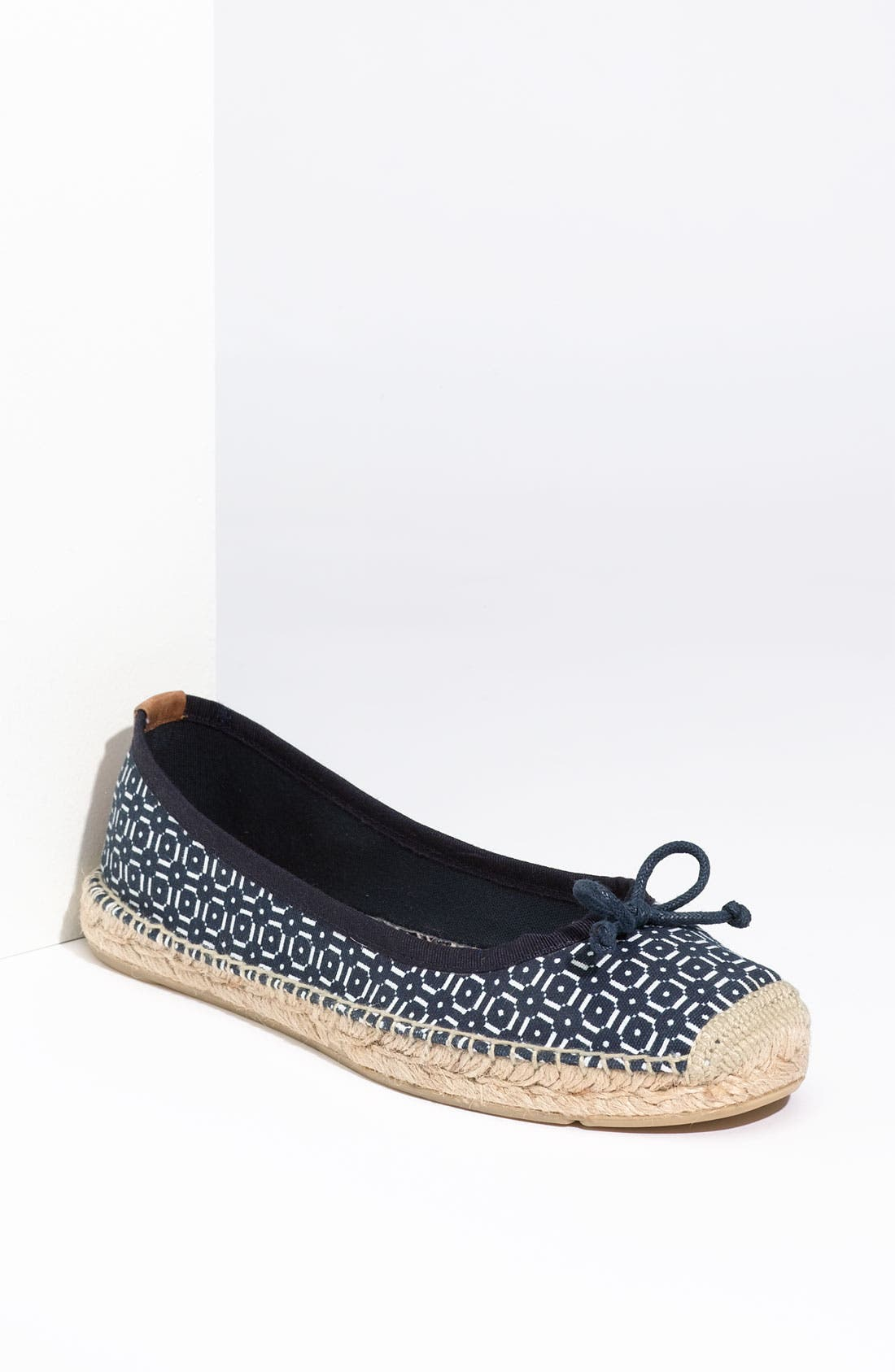 Alternate Image 1 Selected - Tory Burch Printed Flat Espadrille