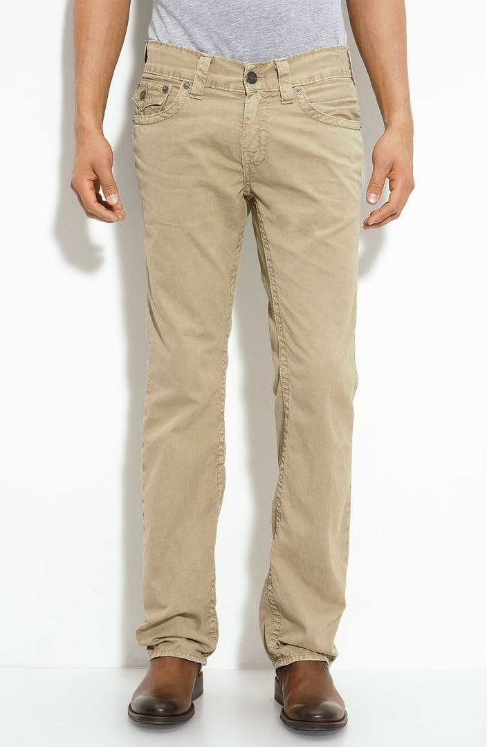 True Religion Brand Jeans Ricky Straight Leg Chinos