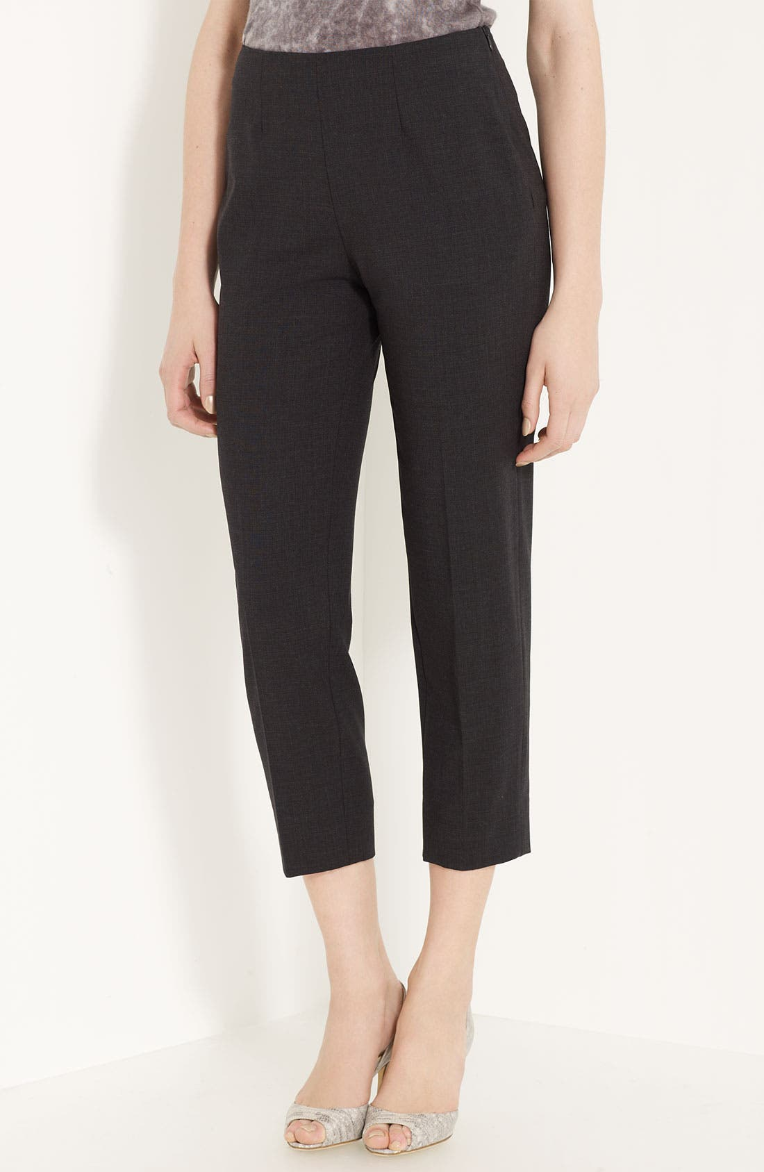 Main Image - Piazza Sempione 'Audrey' Stretch Tropical Wool Pants