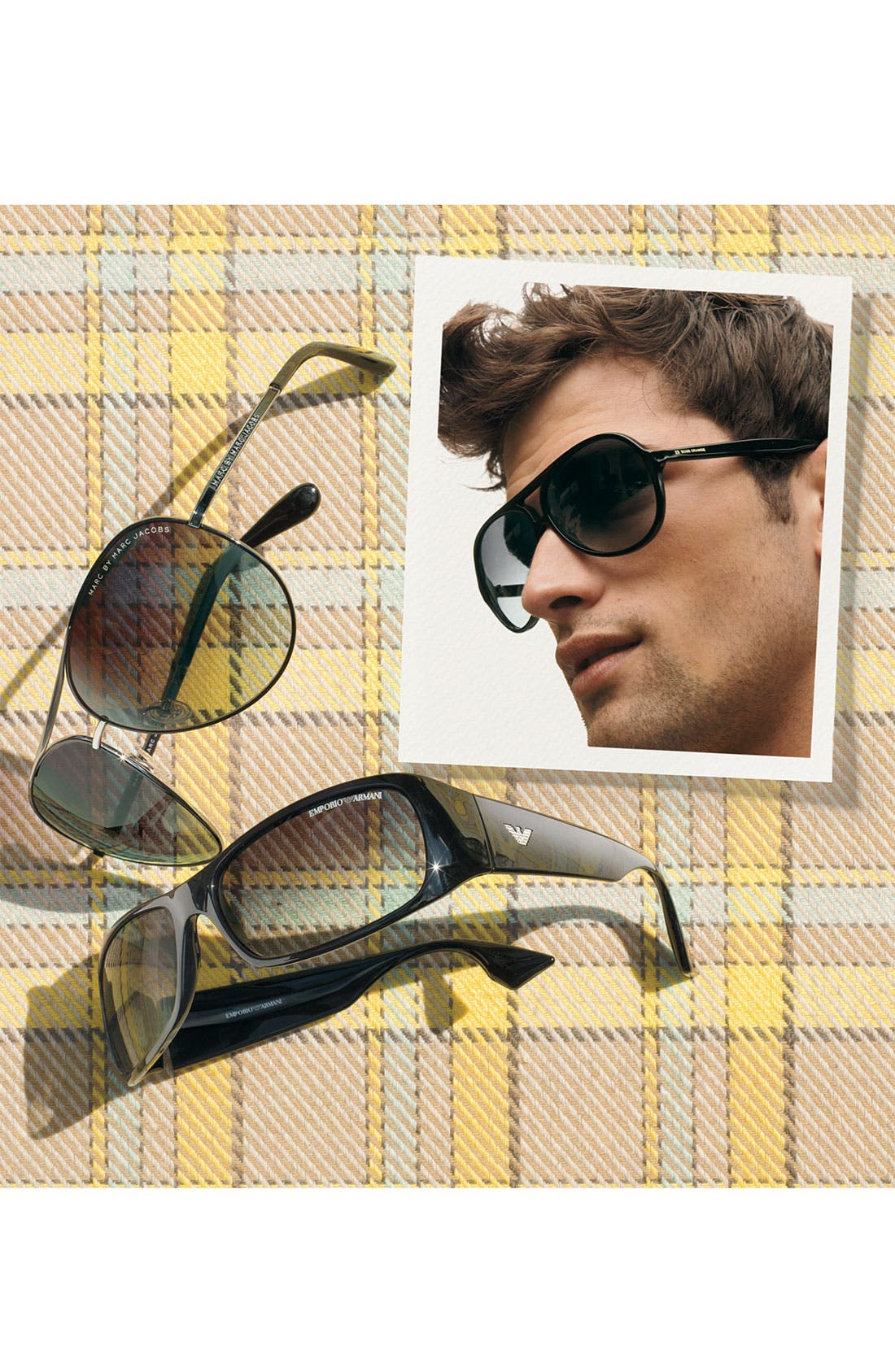Alternate Image 2  - MARC BY MARC JACOBS 63mm Aviator Sunglasses