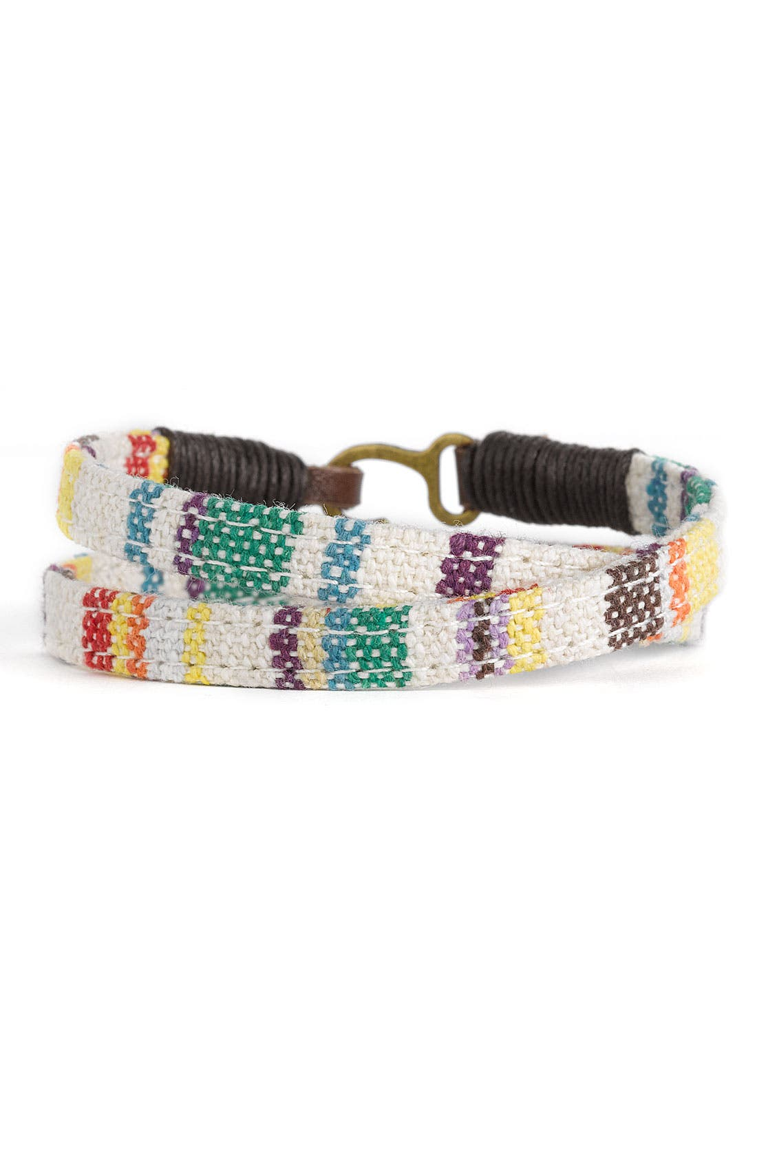 Alternate Image 1 Selected - Aimee Lynn 'Tribal' Wrap Bracelet