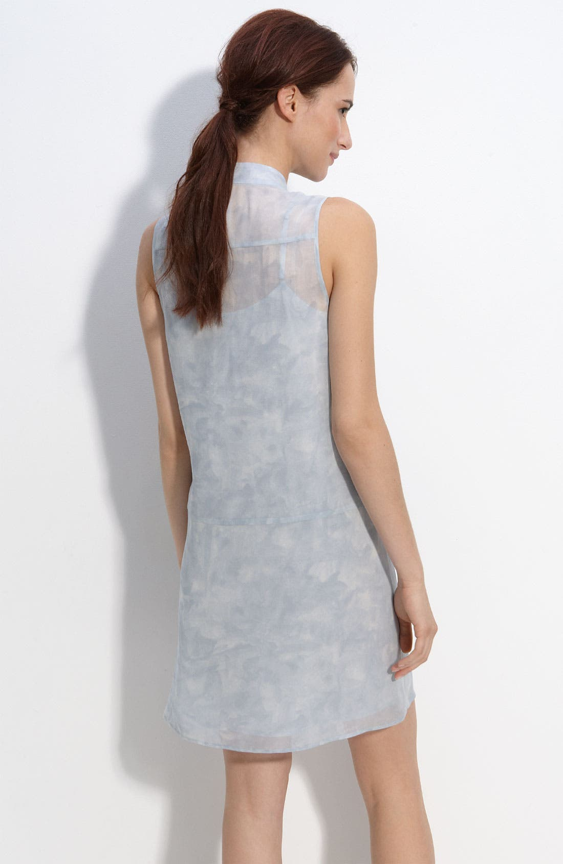 Alternate Image 2  - Theory 'Olim' Pastel Sleeveless Dress