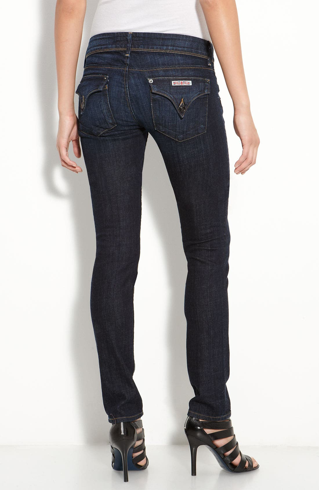 Alternate Image 2  - Hudson Jeans Stretch Jeans (Loving Cup)