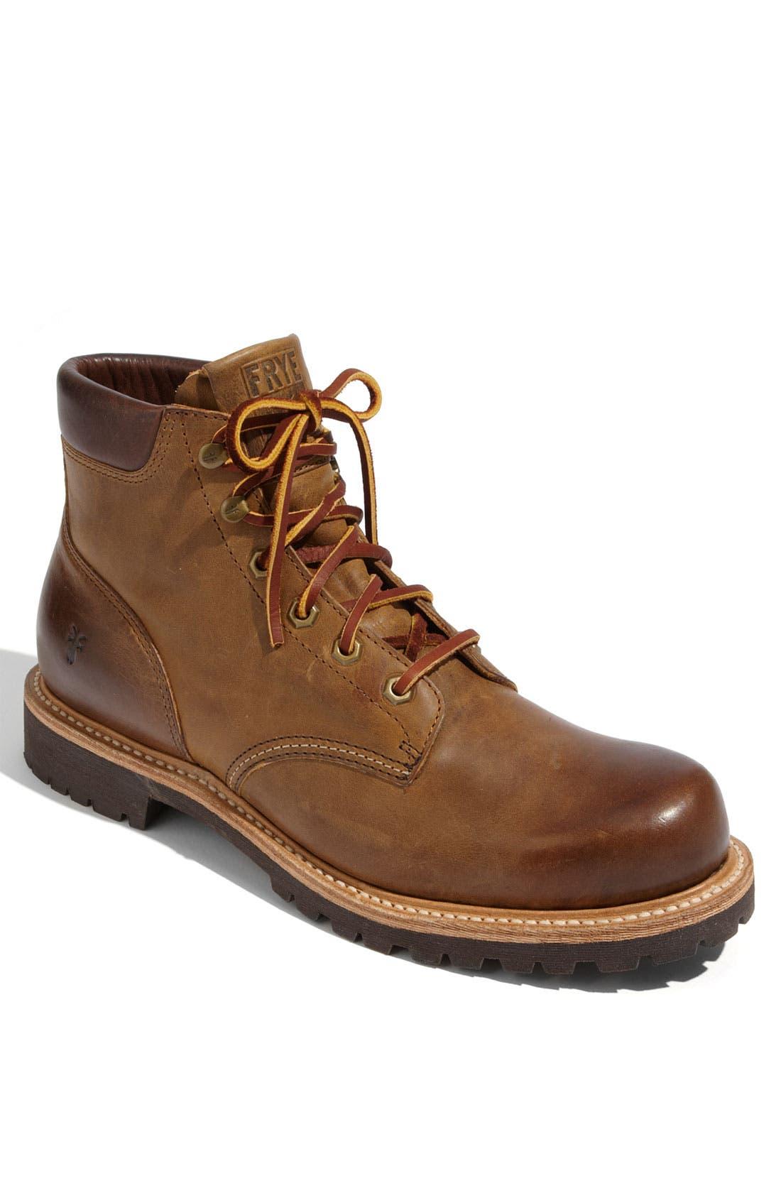 Alternate Image 1 Selected - Frye 'Dakota' Plain Toe Boot