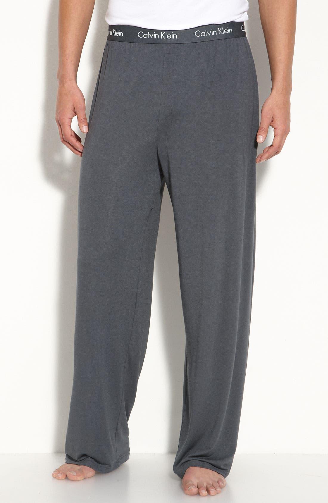 Alternate Image 1 Selected - Calvin Klein 'U1143' Micromodal Lounge Pants