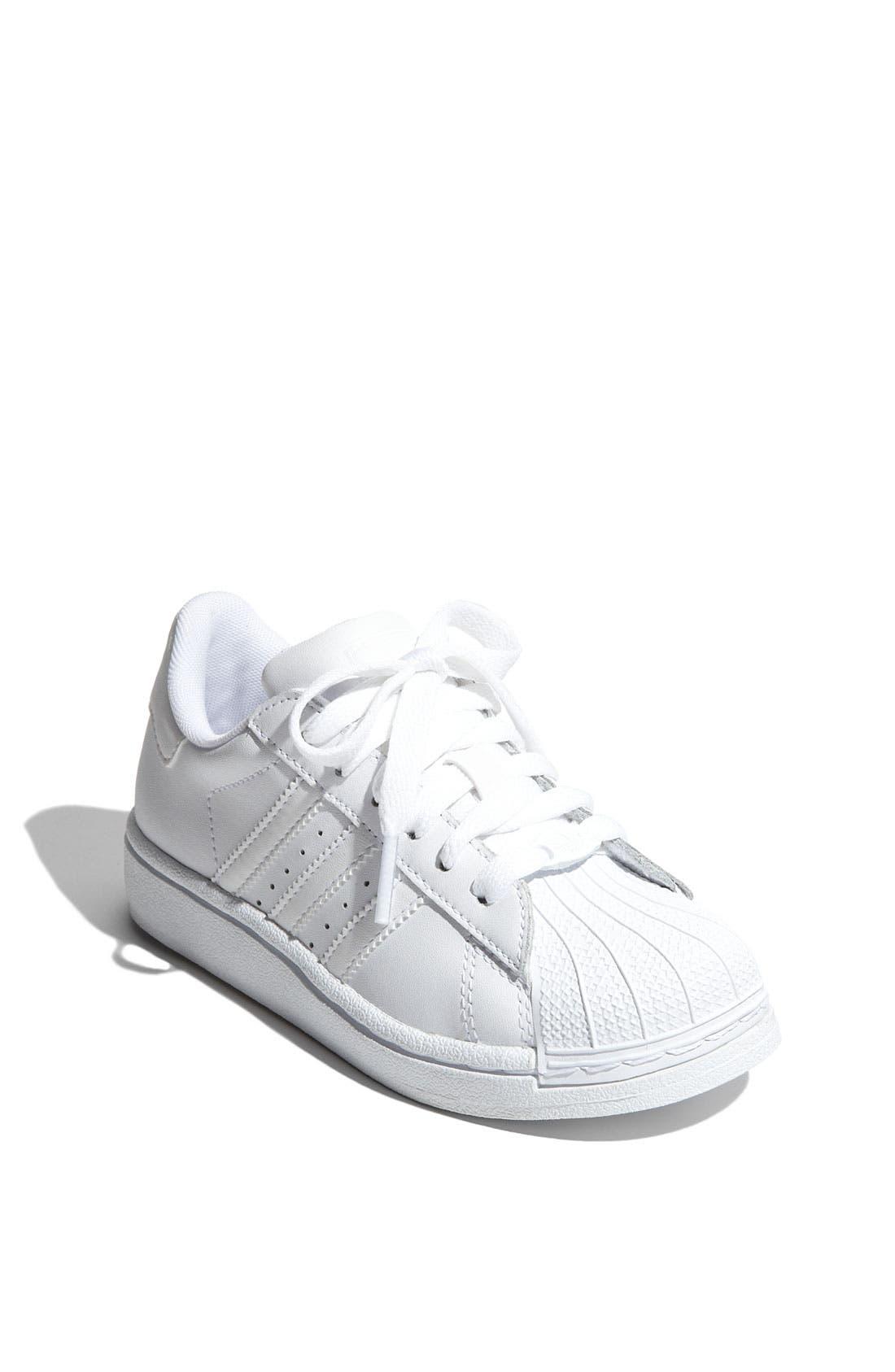 Alternate Image 1 Selected - adidas 'Superstar II' Sneaker (Big Kid)
