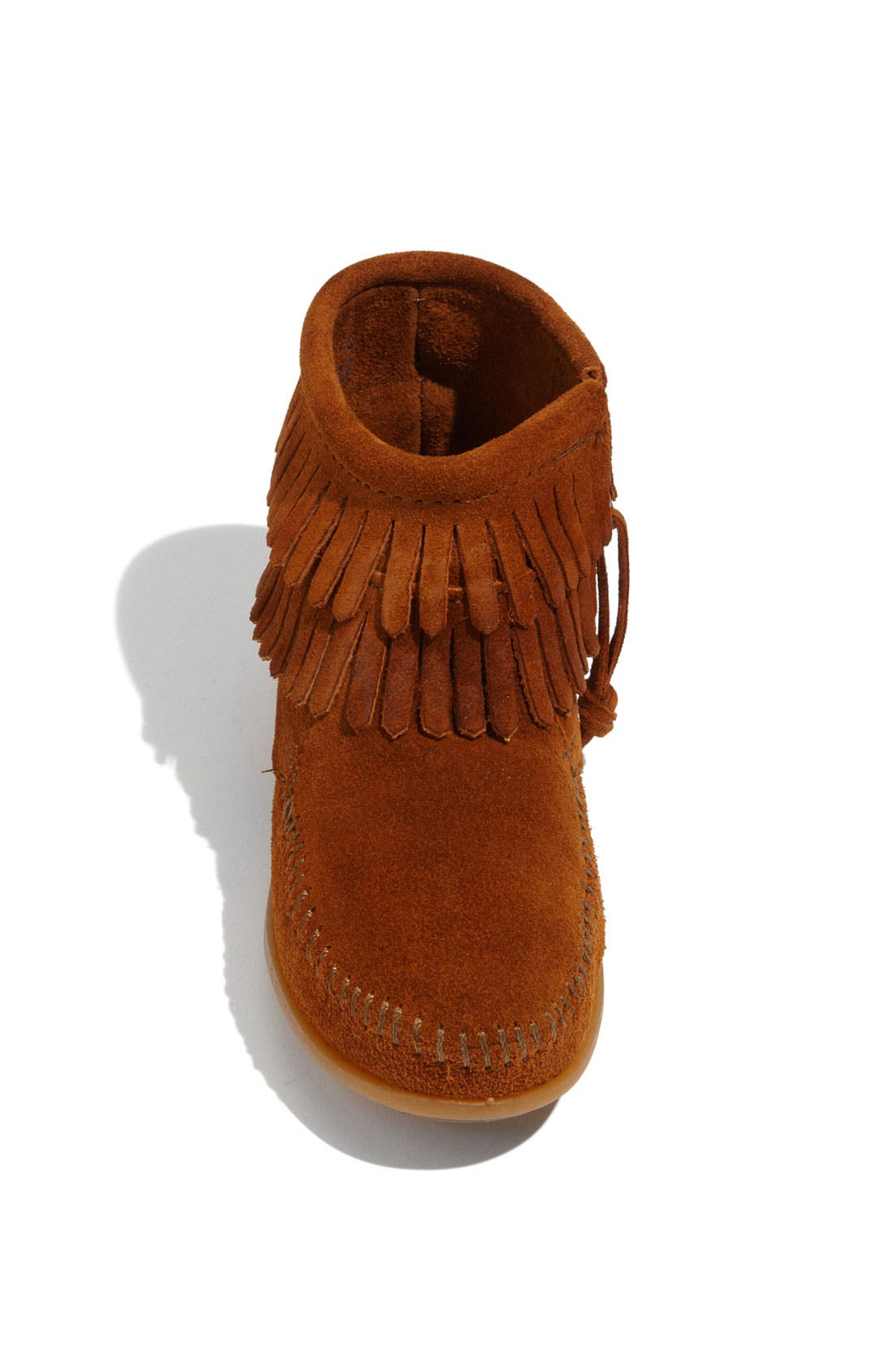 Alternate Image 3  - Minnetonka 'Double Fringe' Boot (Walker, Toddler, Little Kid & Big Kid)