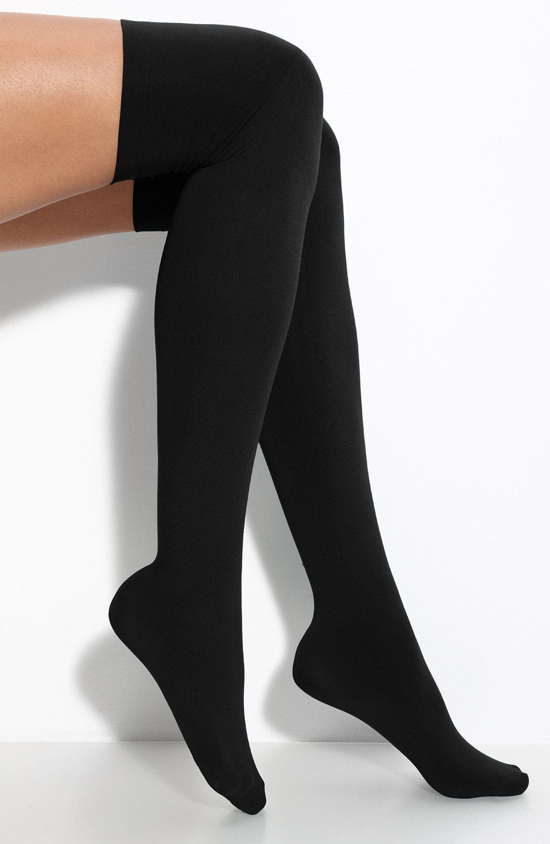 Alternate Image 2  - Hue Microfiber Over the Knee Boot Liners