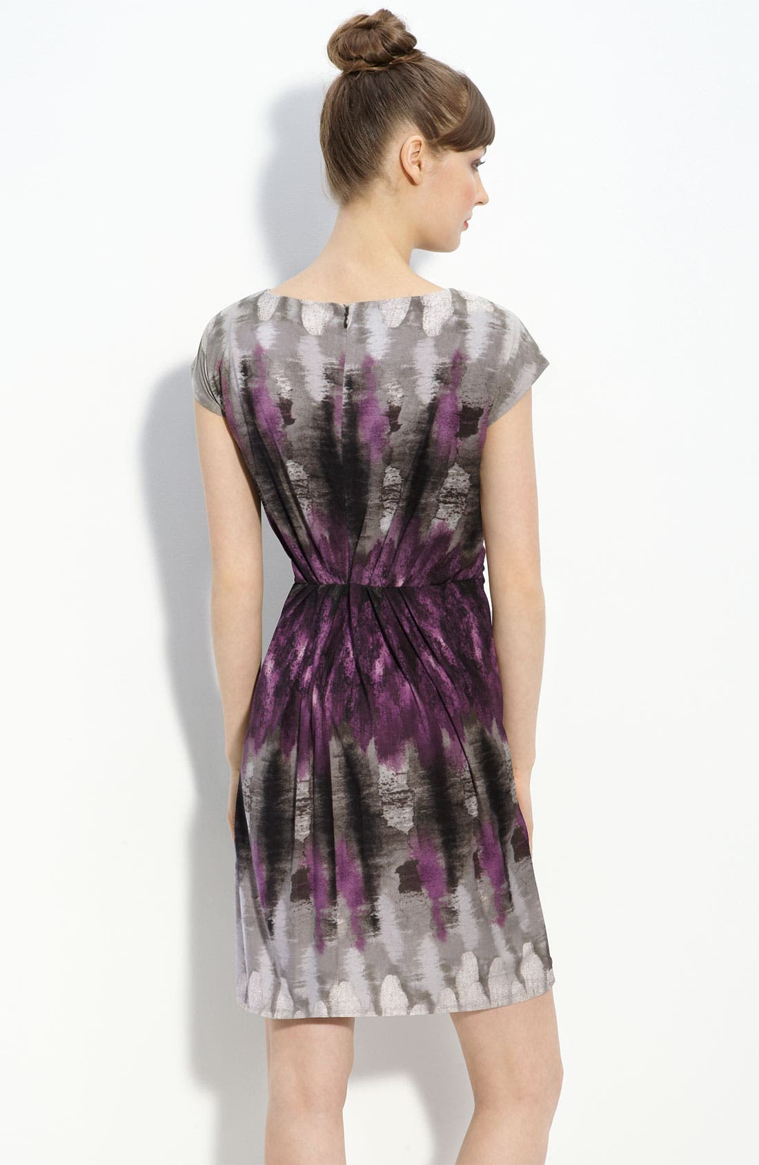 Alternate Image 2  - Suzi Chin for Maggy Boutique Print Jersey Dress