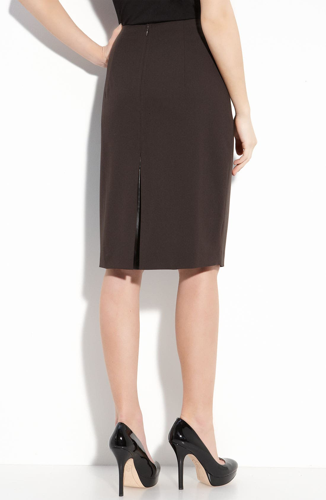 Alternate Image 2  - Elie Tahari Exclusive for Nordstrom 'Julie' Knit Skirt