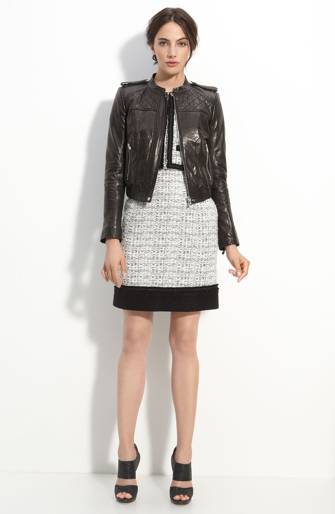 Main Image - Mcginn 'Olivia' Quilted Leather Jacket