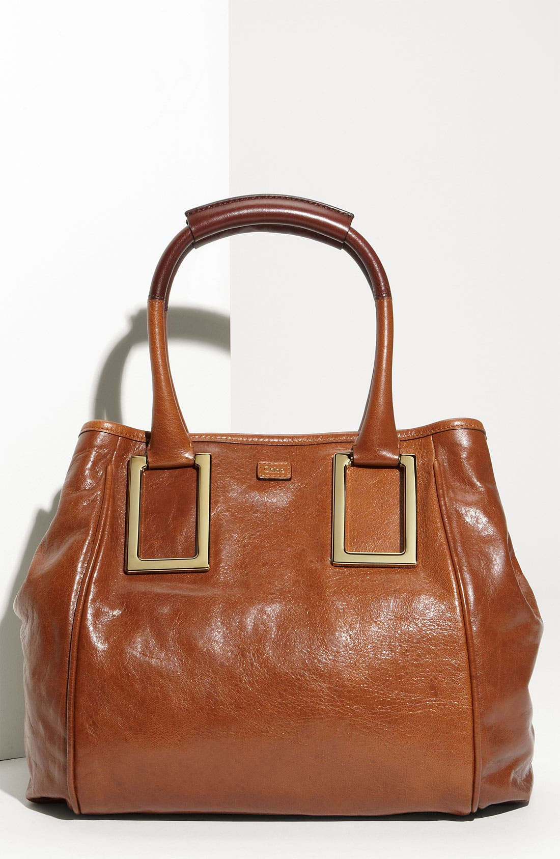 Alternate Image 1 Selected - Chloé 'Ethel - New' Leather Tote