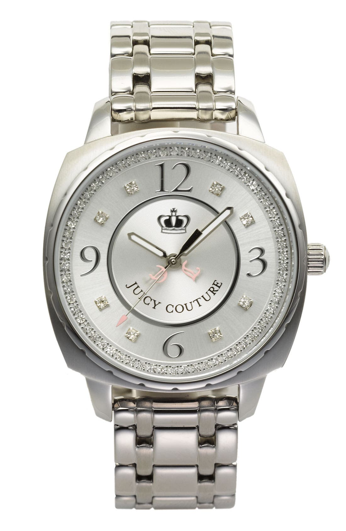 Alternate Image 1 Selected - Juicy Couture 'Beau' Bracelet Watch, 40mm