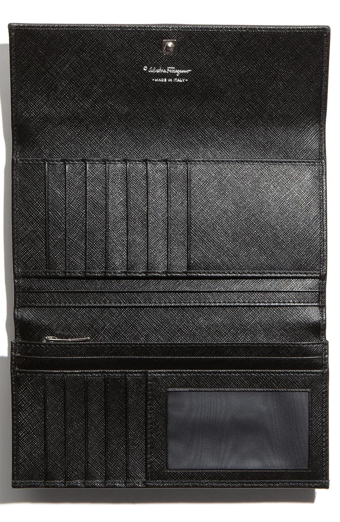 Alternate Image 2  - Salvatore Ferragamo 'Vara' Continental Wallet