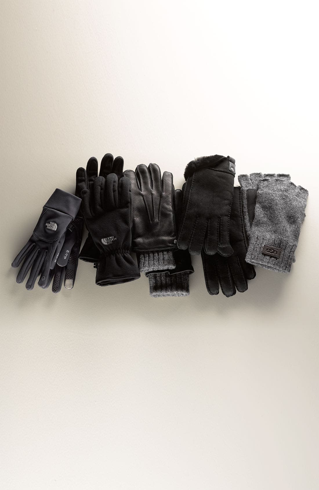 Alternate Image 2  - The North Face 'Windwall' Gloves (Men)