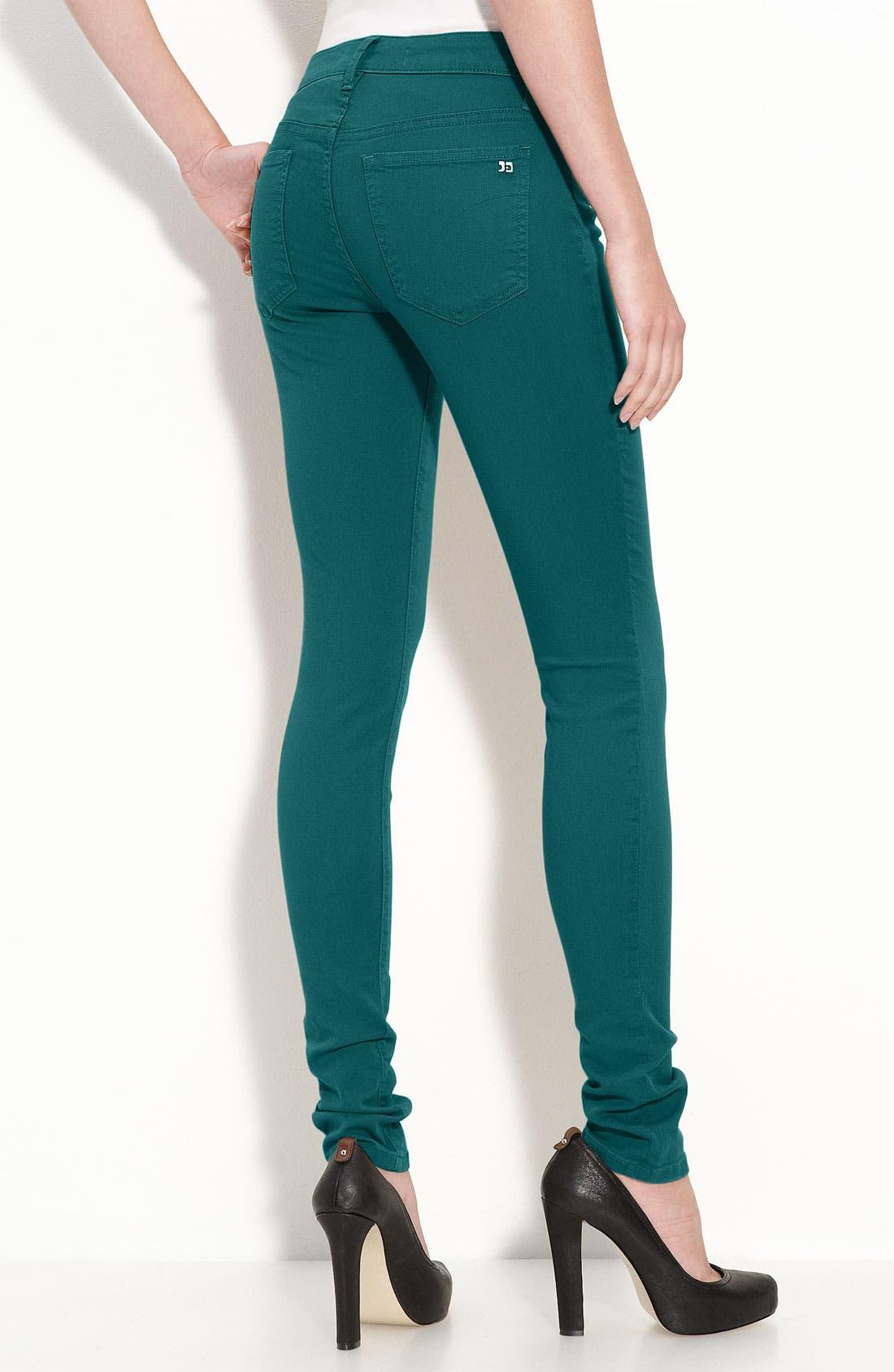 Alternate Image 1 Selected - Joe's 'Chelsea' Skinny Stretch Denim Jeans (Spruce Wash)