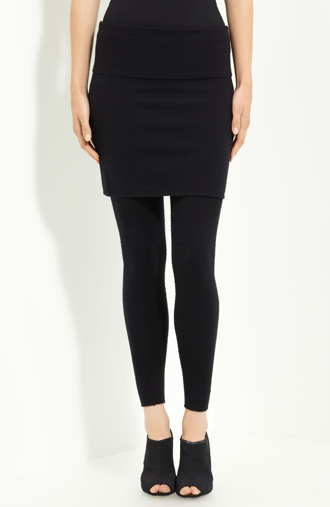 Main Image - Donna Karan Collection Cashmere Blend Miniskirt