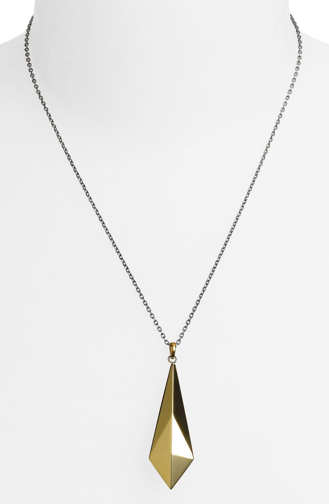 Alternate Image 1 Selected - Elizabeth and James 'Geodesic' Pendant Necklace