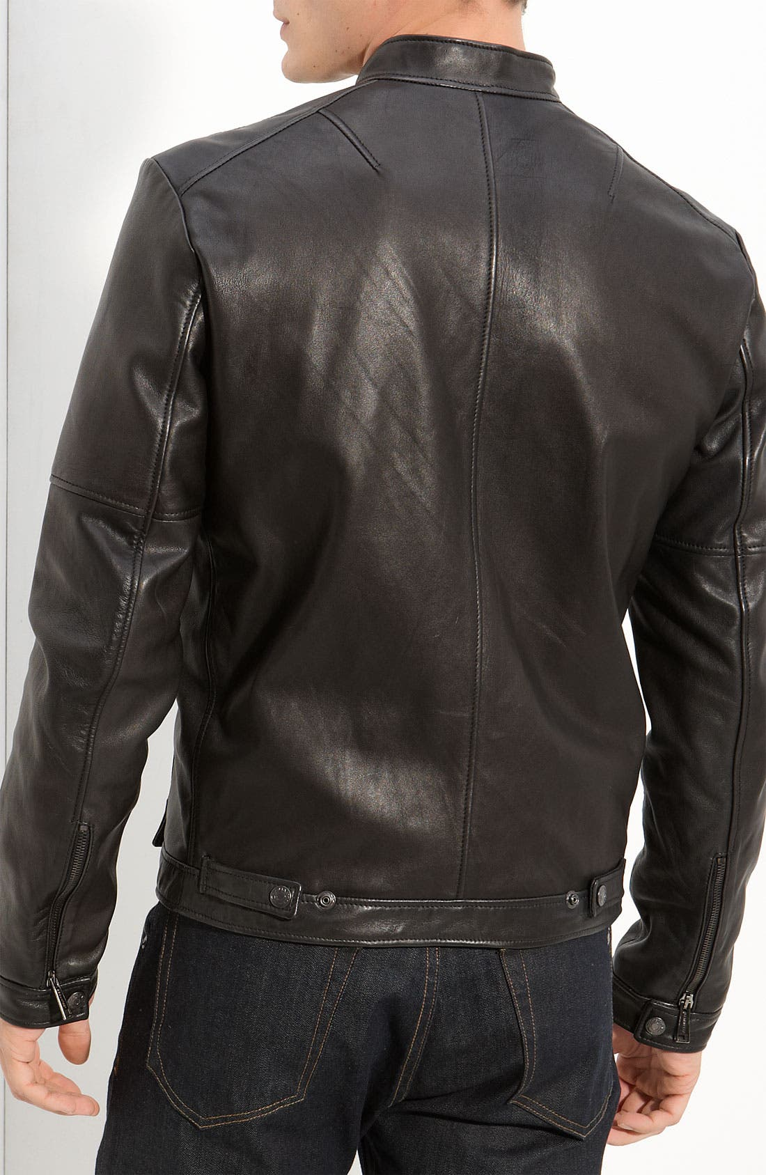 Alternate Image 2  - Dsquared2 Leather Moto Jacket