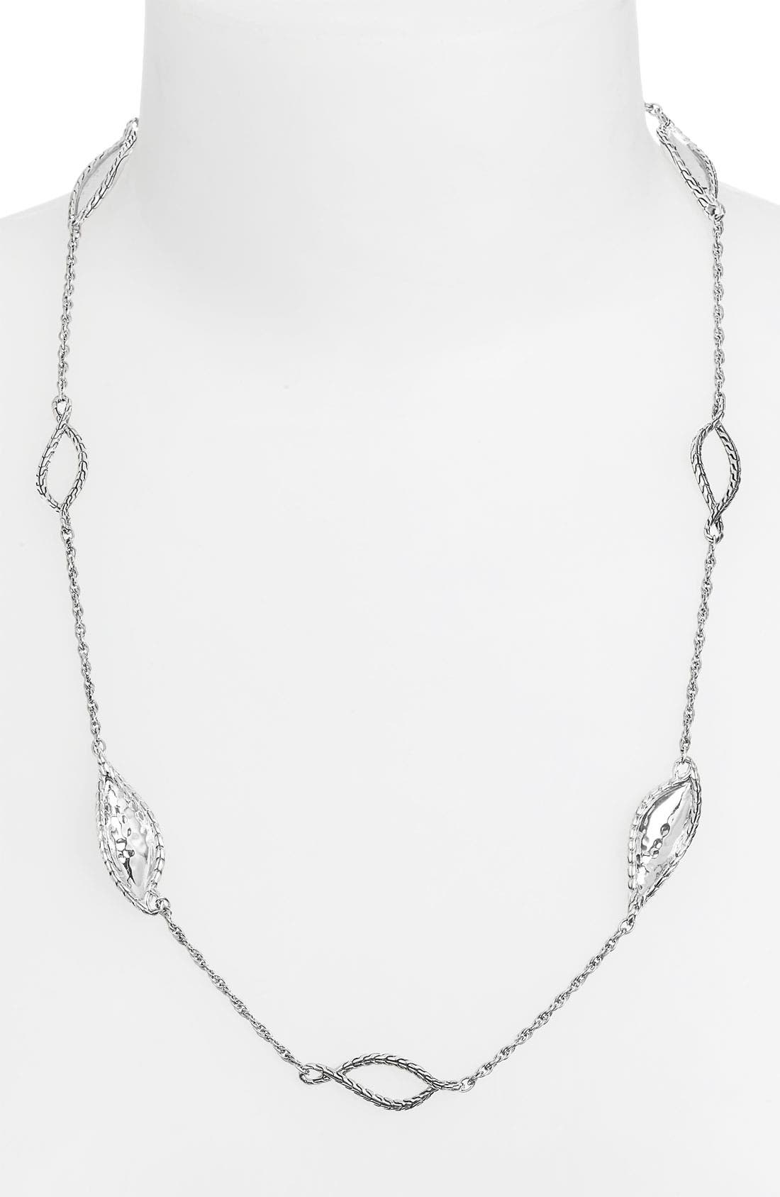 Alternate Image 1 Selected - John Hardy 'Palu' 8-Station Sautoir Necklace