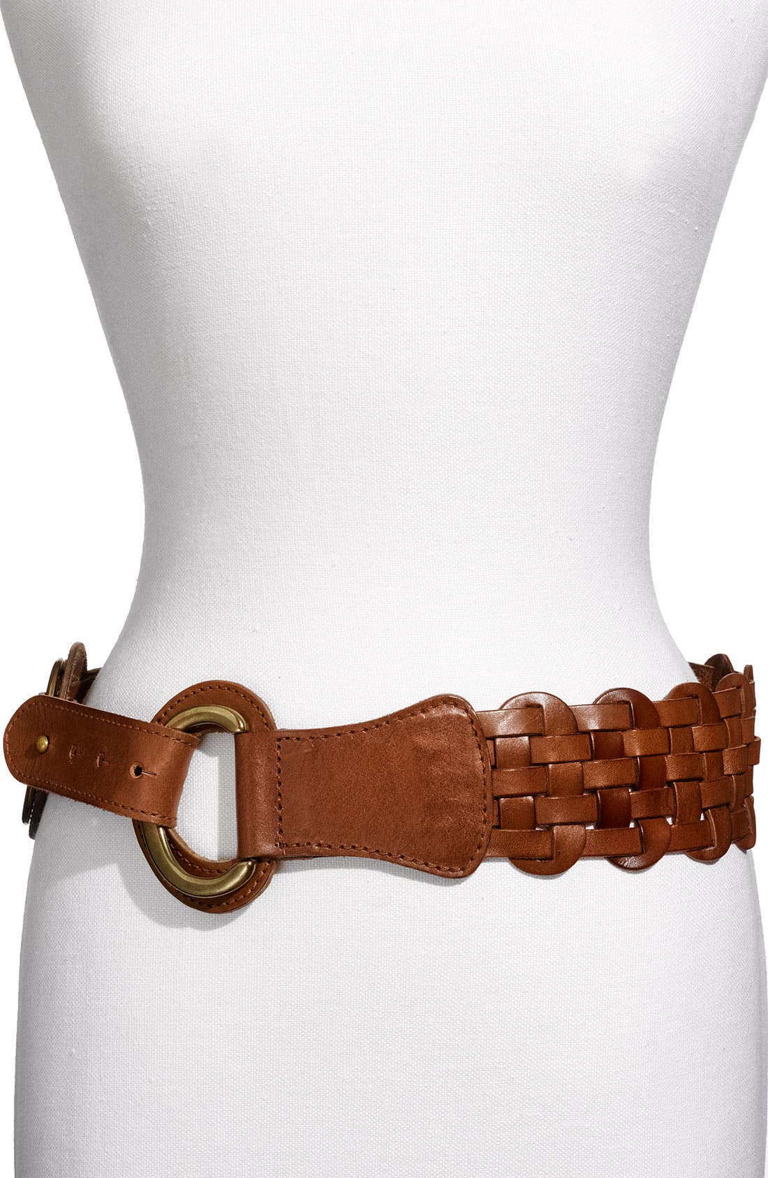 Main Image - Linea Pelle 'Linked Ring' Hip Belt
