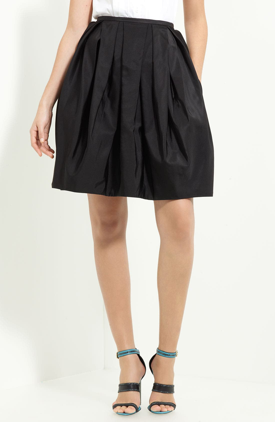 Alternate Image 1 Selected - Jason Wu Sculpted Techno Satin Skirt
