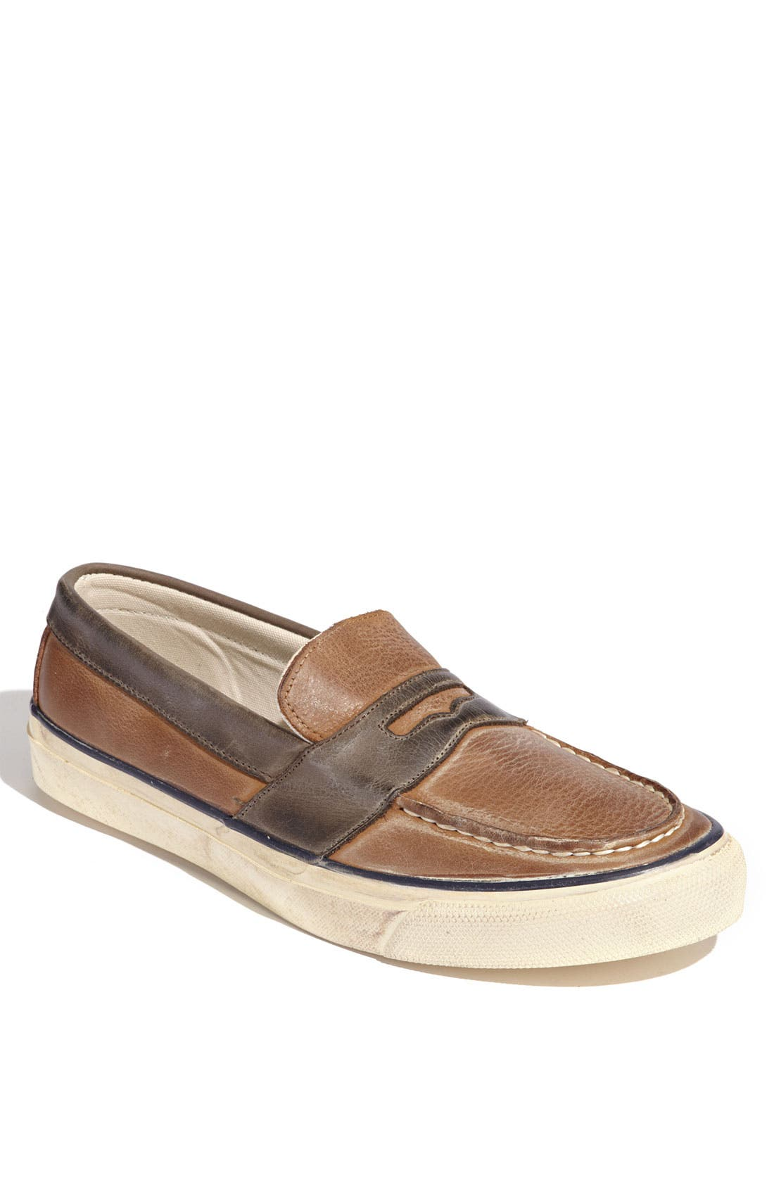 Alternate Image 1 Selected - Sperry Top-Sider® 'Burnished Penny' Slip-On (Online Only)