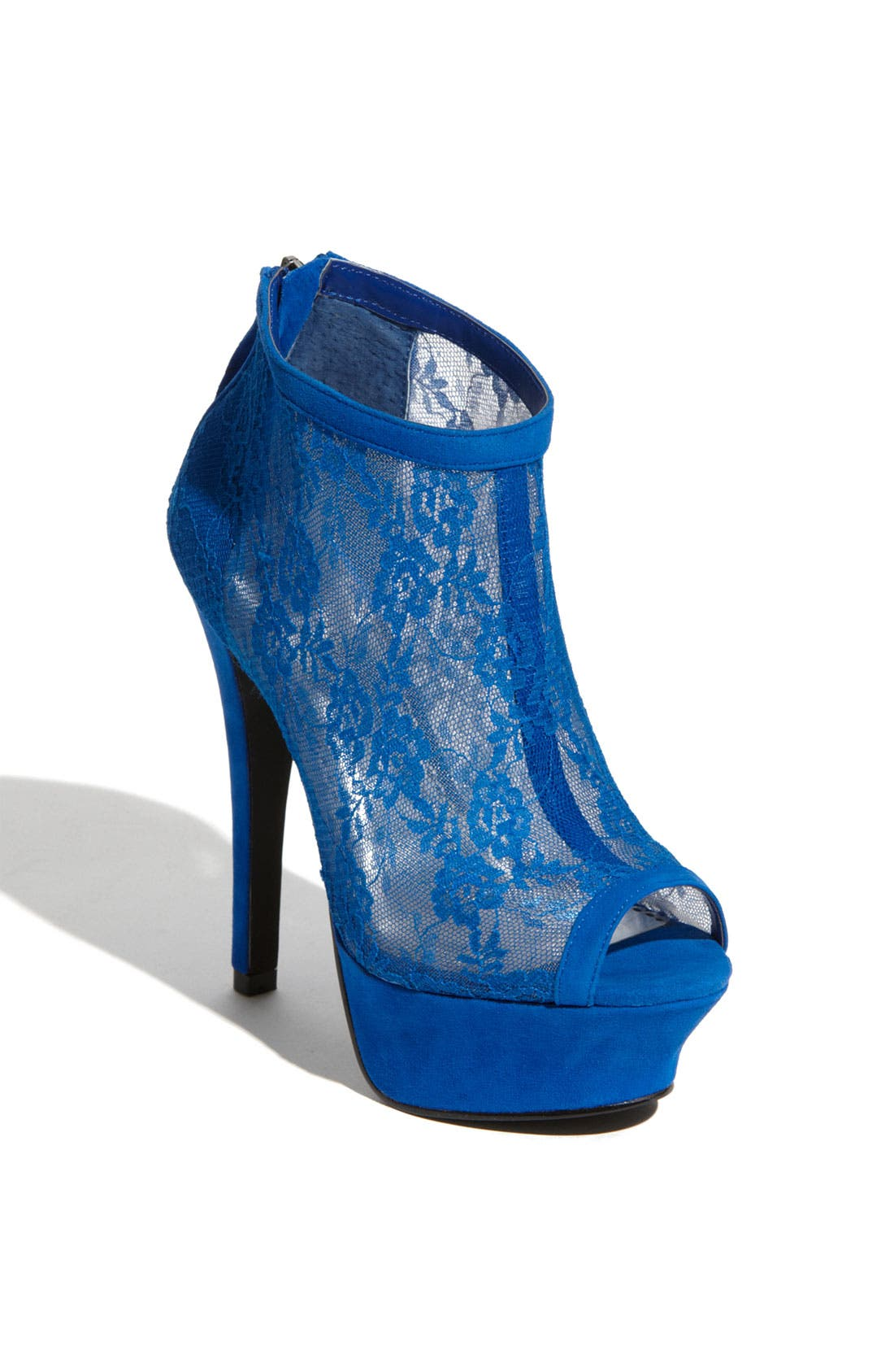 Alternate Image 1 Selected - bebe 'Olivia' Lace Bootie