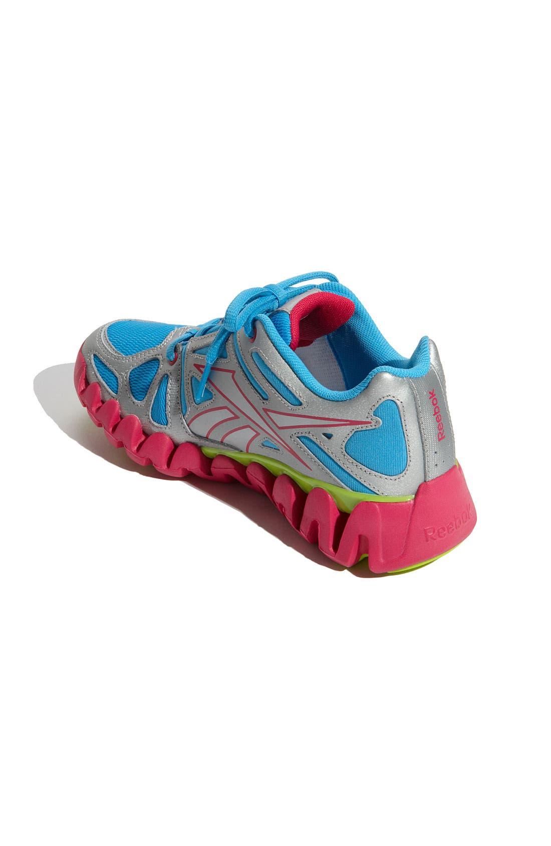 Alternate Image 2  - Reebok 'Zig Dynamic' Running Shoe (Baby, Walker, Toddler, Little Kid & Big Kid)