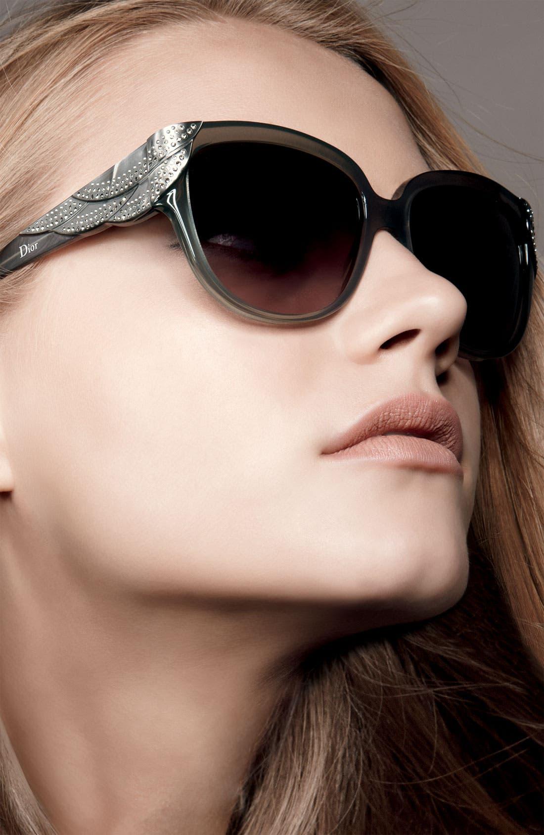 Alternate Image 2  - Dior 56mm Retro Sunglasses (Limited Edition)