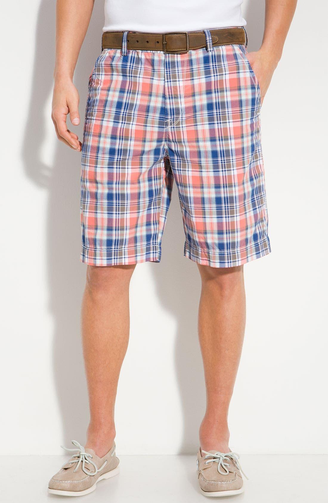 Alternate Image 1 Selected - Saltaire 'Boca Checka' Bermuda Shorts