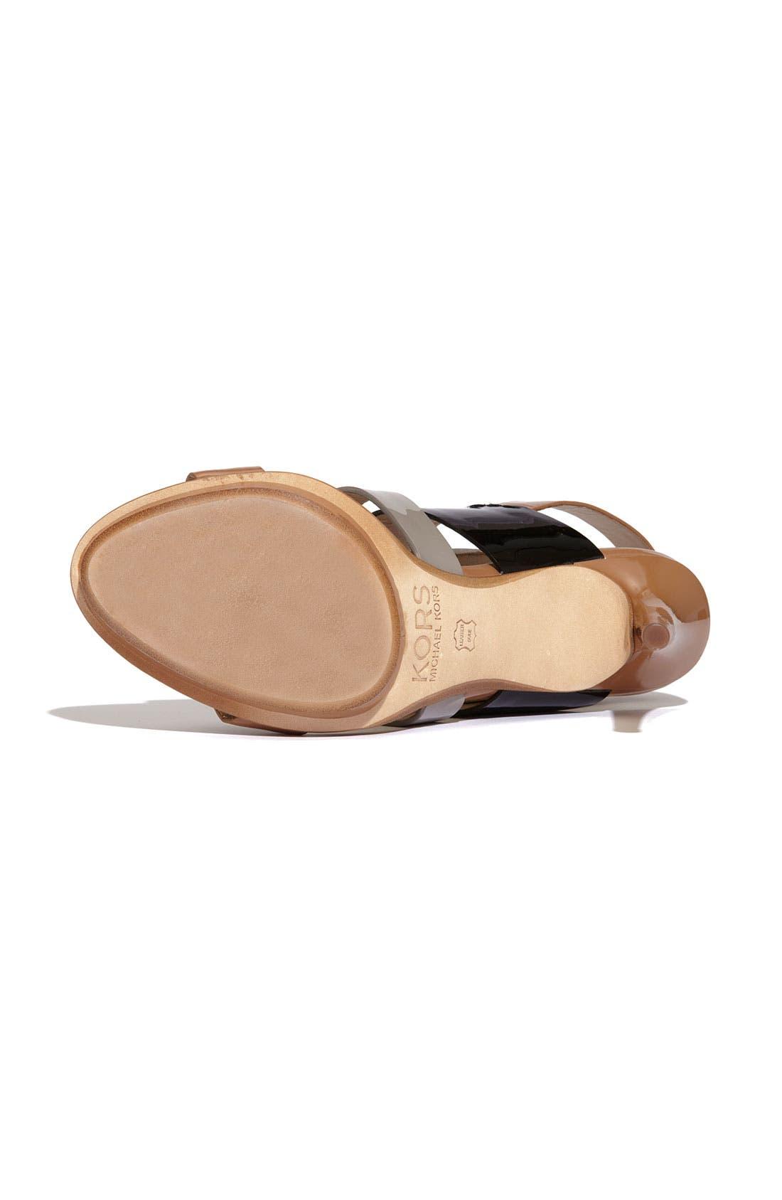 Alternate Image 4  - KORS Michael Kors 'Lizzie' Sandal