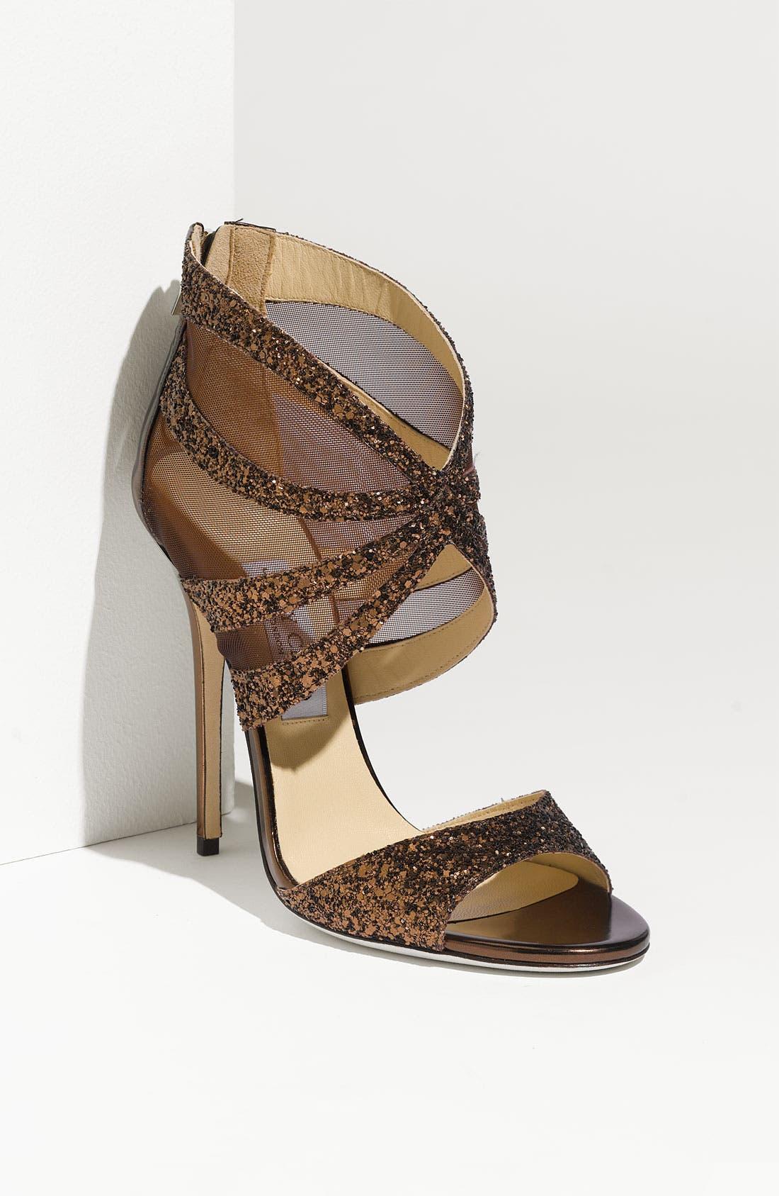 Alternate Image 1 Selected - Jimmy Choo 'Leila' Mesh Sandal