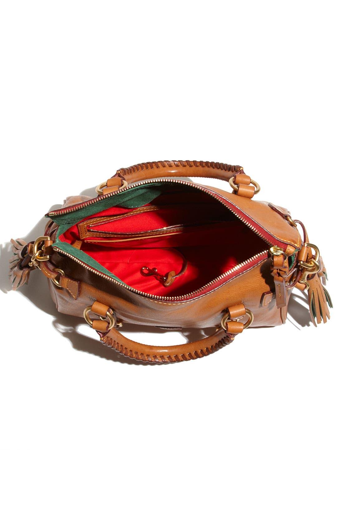 Alternate Image 3  - Dooney & Bourke 'Mini - Florentine Collection' Leather Satchel