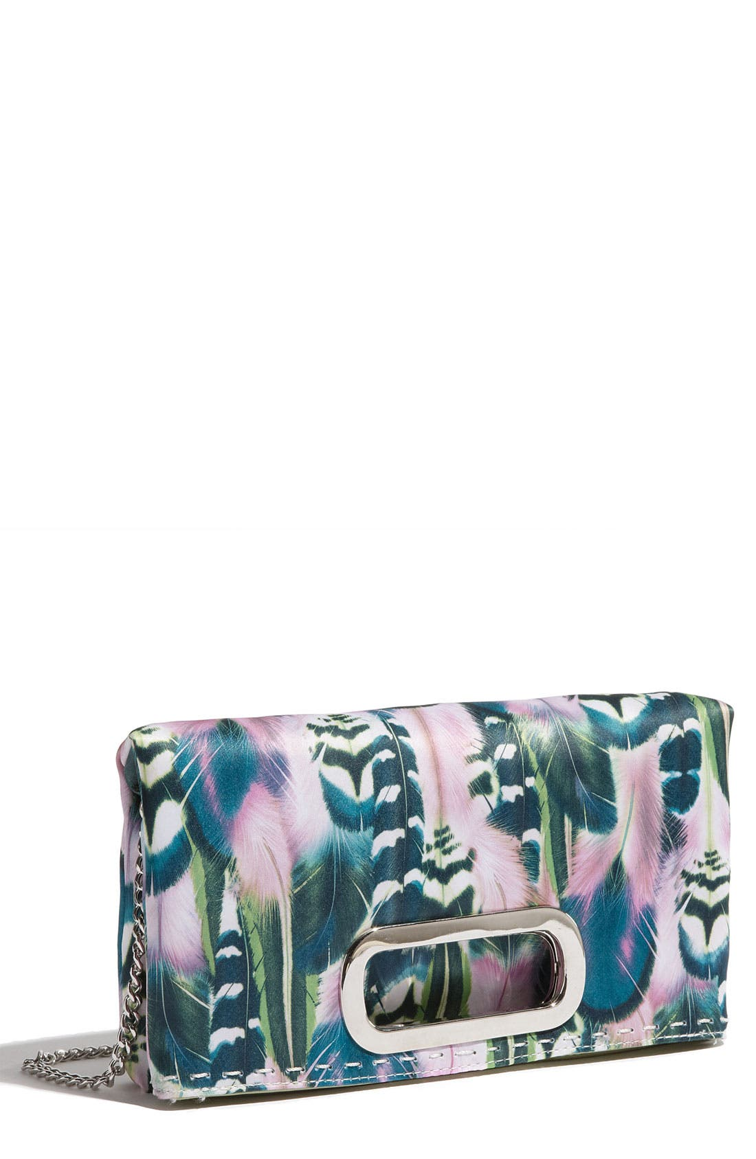 Main Image - SR Squared by Sondra Roberts 'Feather' Clutch