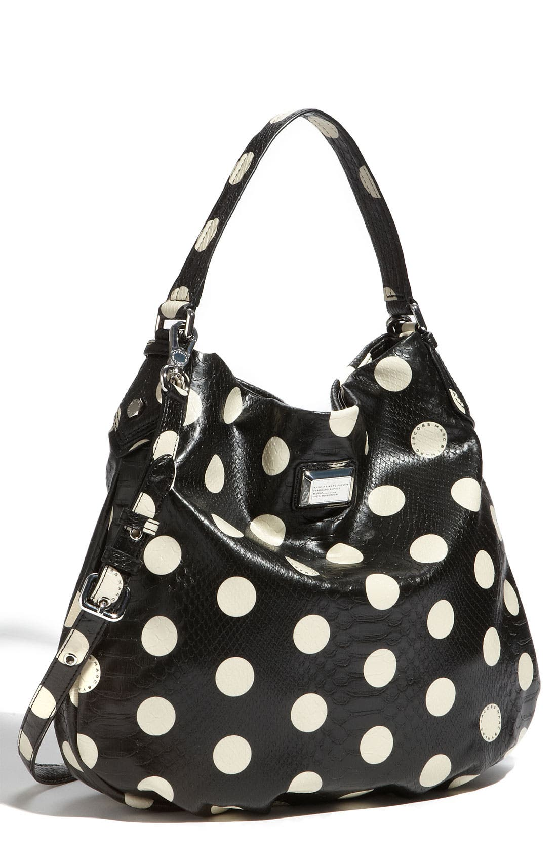 Main Image - MARC BY MARC JACOBS 'Dotty Snake Hillier' Faux Leather Hobo