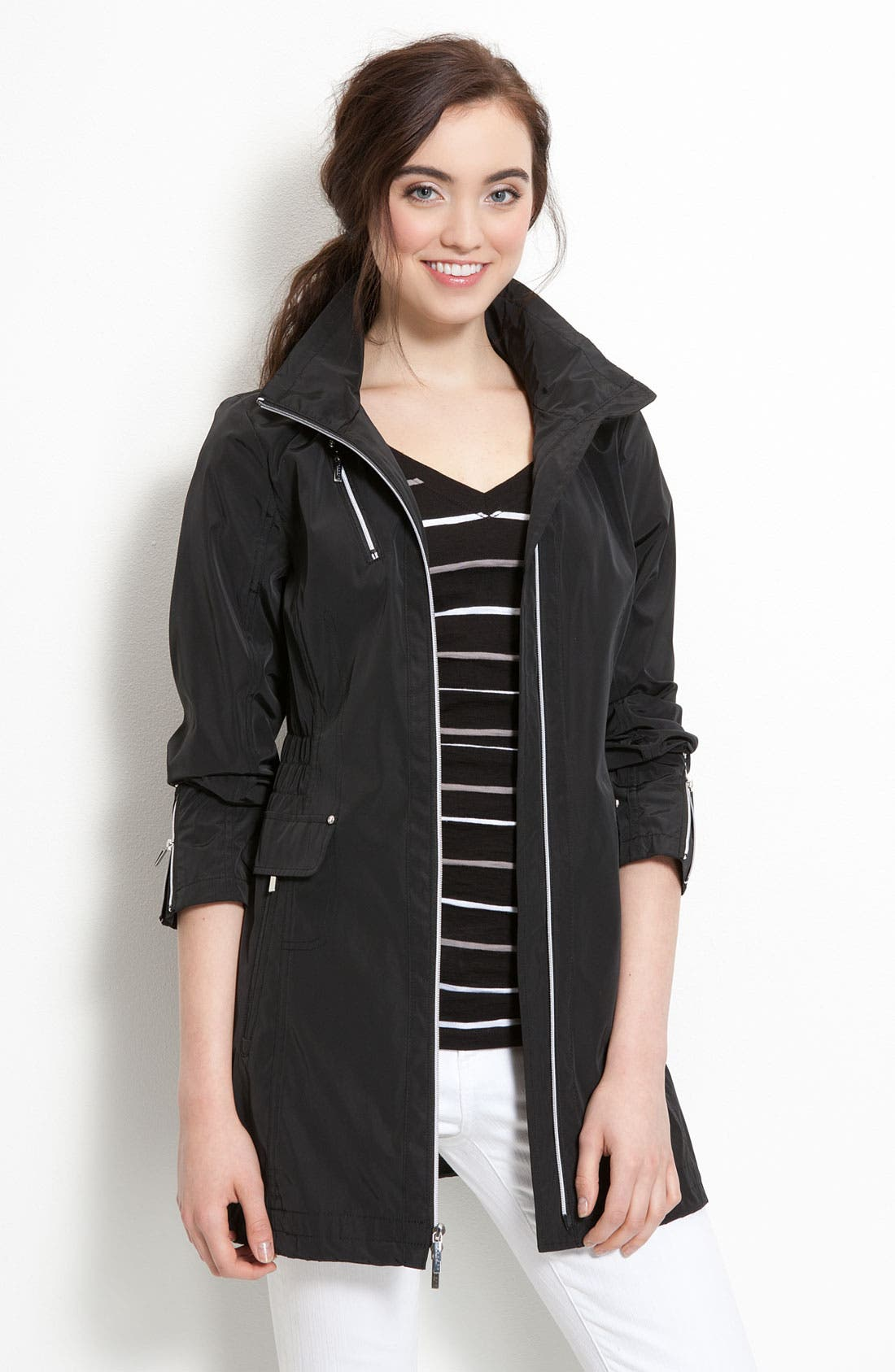 Main Image - Laundry by Shelli Segal Hooded Anorak (Nordstrom Exclusive)